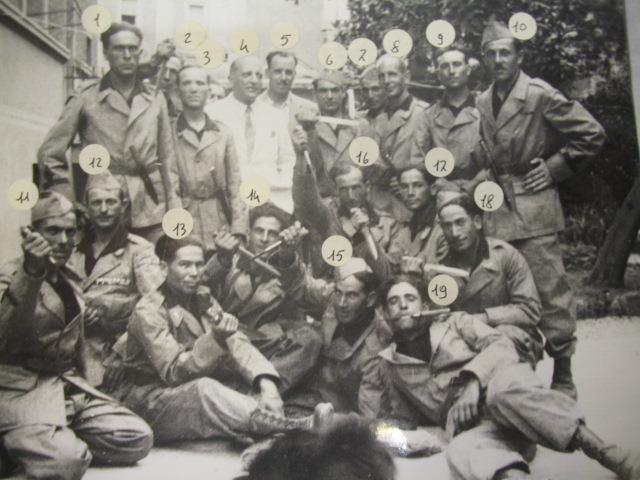 Soldati periodo Seconda Guerra
