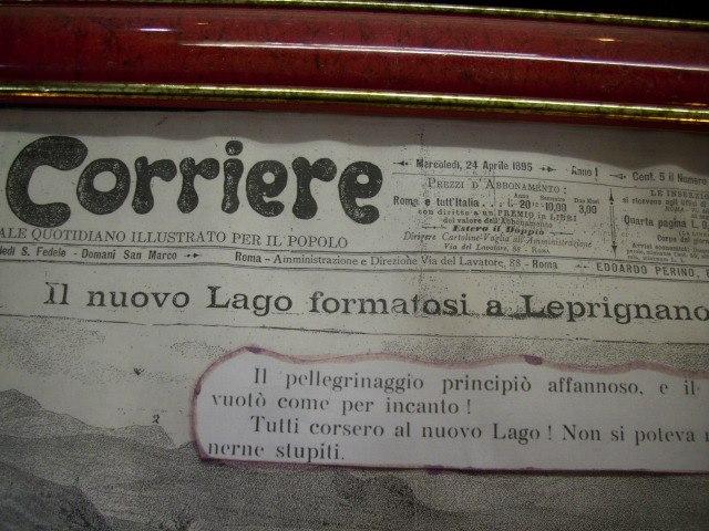 Lago Corriere dei Piccoli