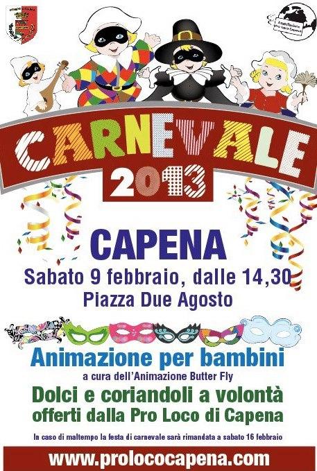CARNEVALE CAPENA 2013