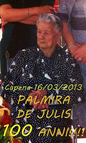 DE JULIS PALMIRA
